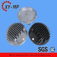 Precision die casting aluminum radiator